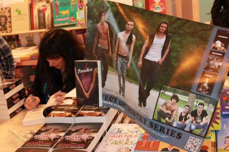 SALON DU LIVRE 2012 : Compte-rendus Simone19