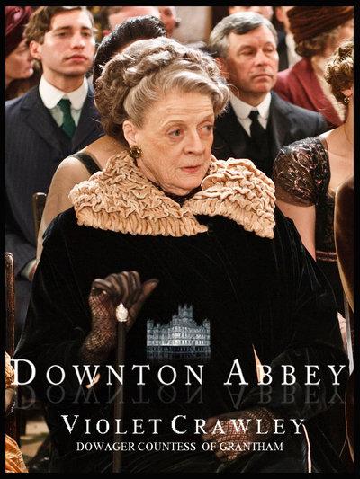 Donwton Abbey Violet10