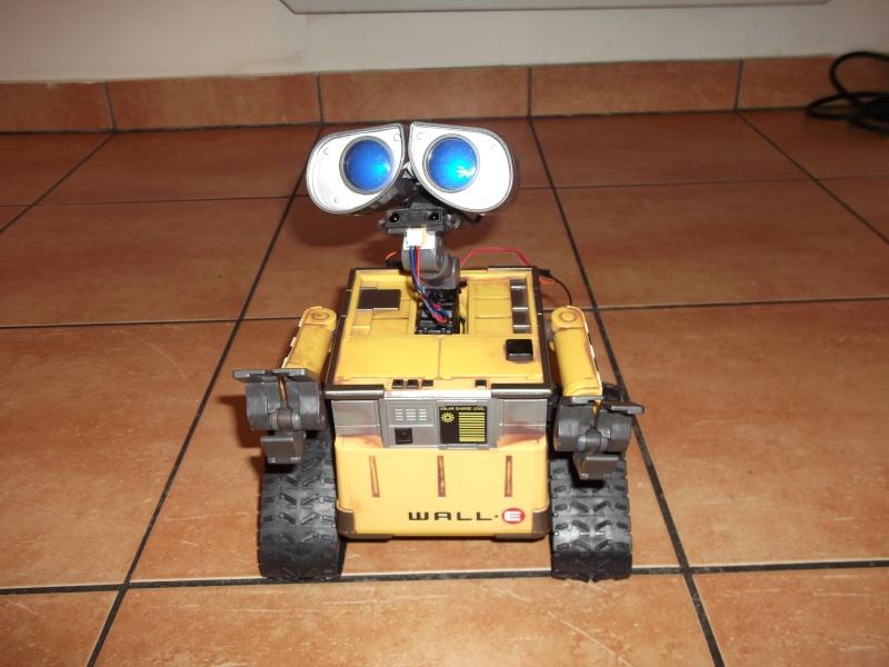 Préparation d'un robot Wall-e Dscf0127