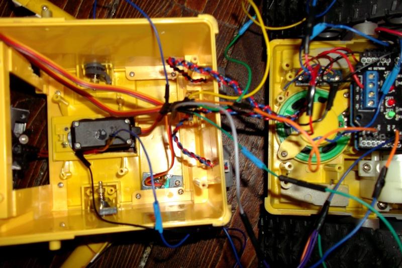 Préparation d'un robot Wall-e Dscf0344