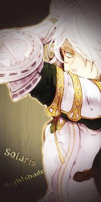 Sol' Nightshade, le blanc au service de l'écarlate FINISH Solari10