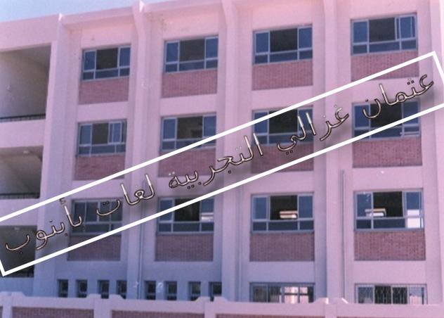 مدرسة عثمان غزالي التجربية لغات بأبنوب