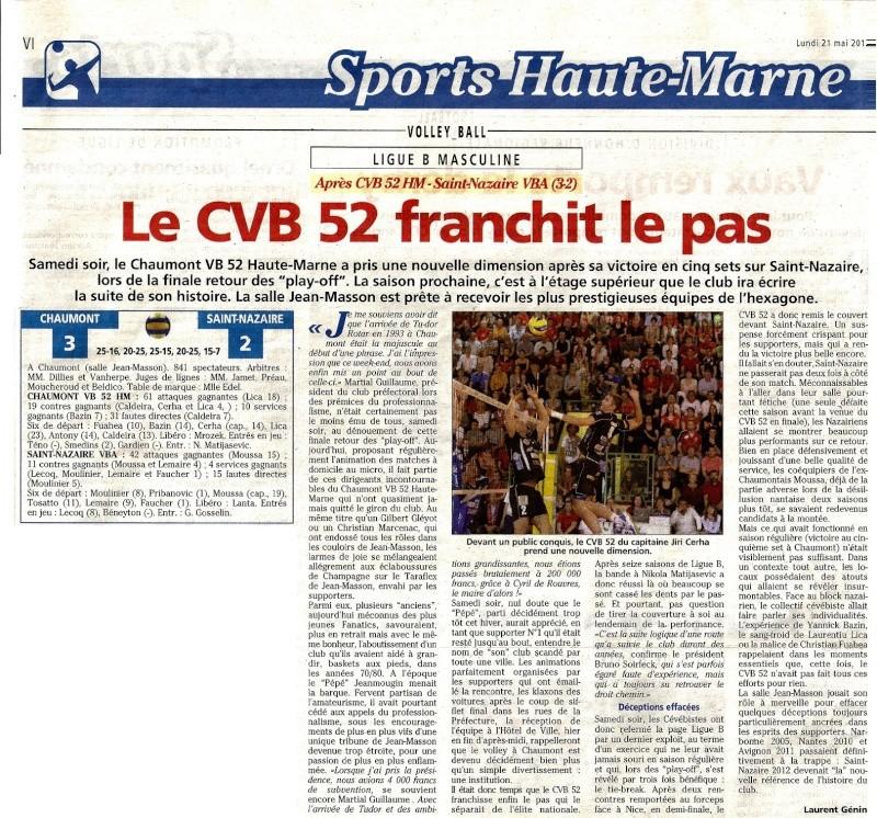 Play-off final retour CVB52 / SAINT-NAZAIRE VBA - Page 2 21052013