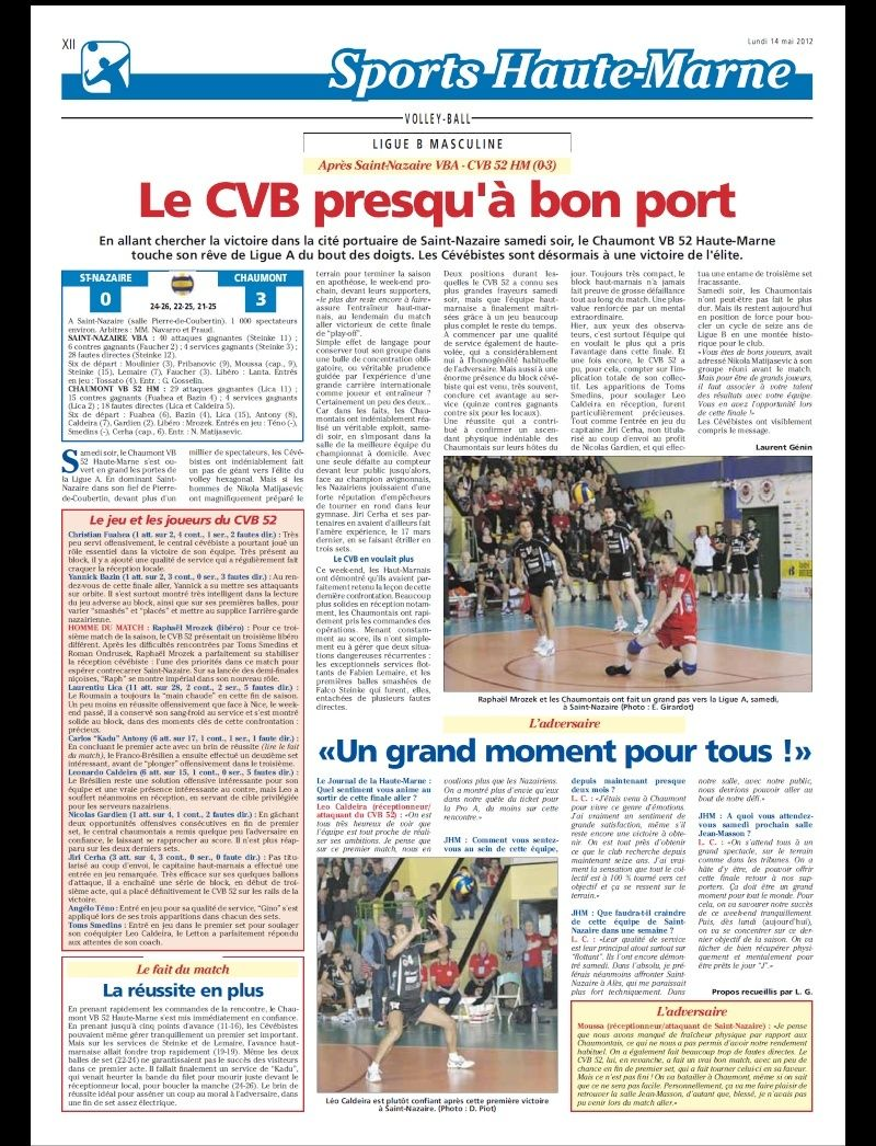 Play-off final aller SAINT-NAZAIRE VBA / CVB52 HM - Page 5 Aaa110