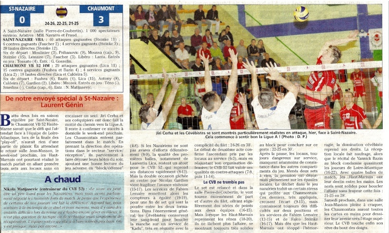 Play-off final aller SAINT-NAZAIRE VBA / CVB52 HM - Page 5 Aaarti10