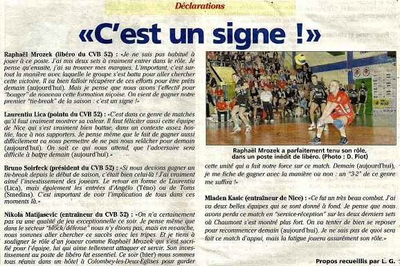 Play-off, demi-final retour CVB52HM / NICE VB - Page 3 Daclar10
