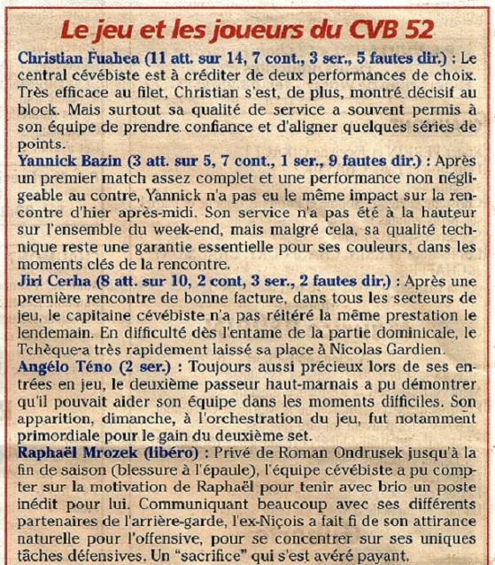 Play-off, demi-final retour CVB52HM / NICE VB - Page 3 Jeu_jo12