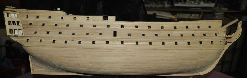 Nikolaus' Baubericht der HMS VICTORY Rumpf-10