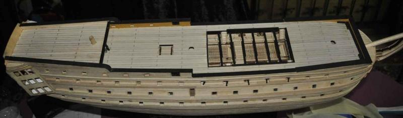 Nikolaus' Baubericht der HMS VICTORY Rumpf-11