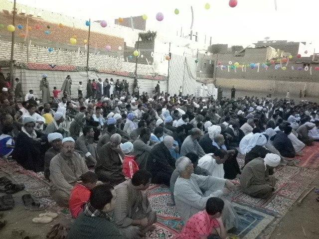 الأحتفال بعيد الأضحى المبارك داخل نادى شباب القريه.. 40929810