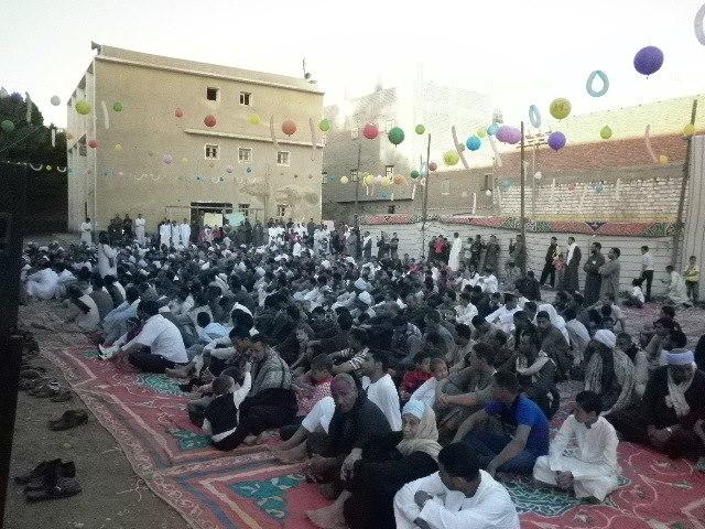الأحتفال بعيد الأضحى المبارك داخل نادى شباب القريه.. 55234610