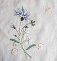Fournitures du bouquet brodé Fin110