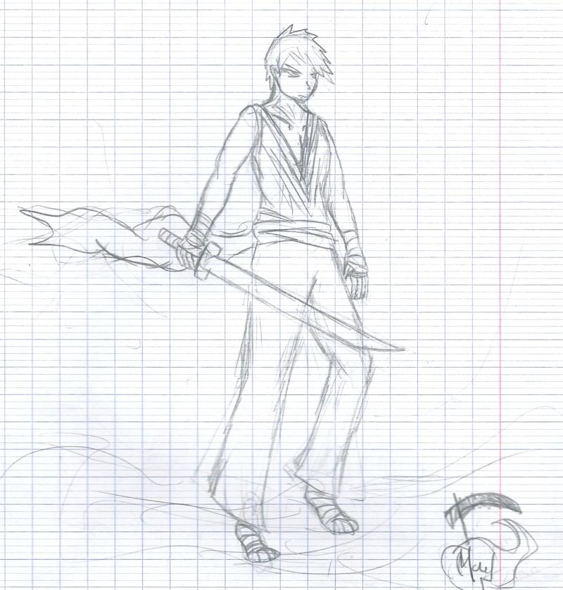 Galerie de dessins d'un otaku Numari15
