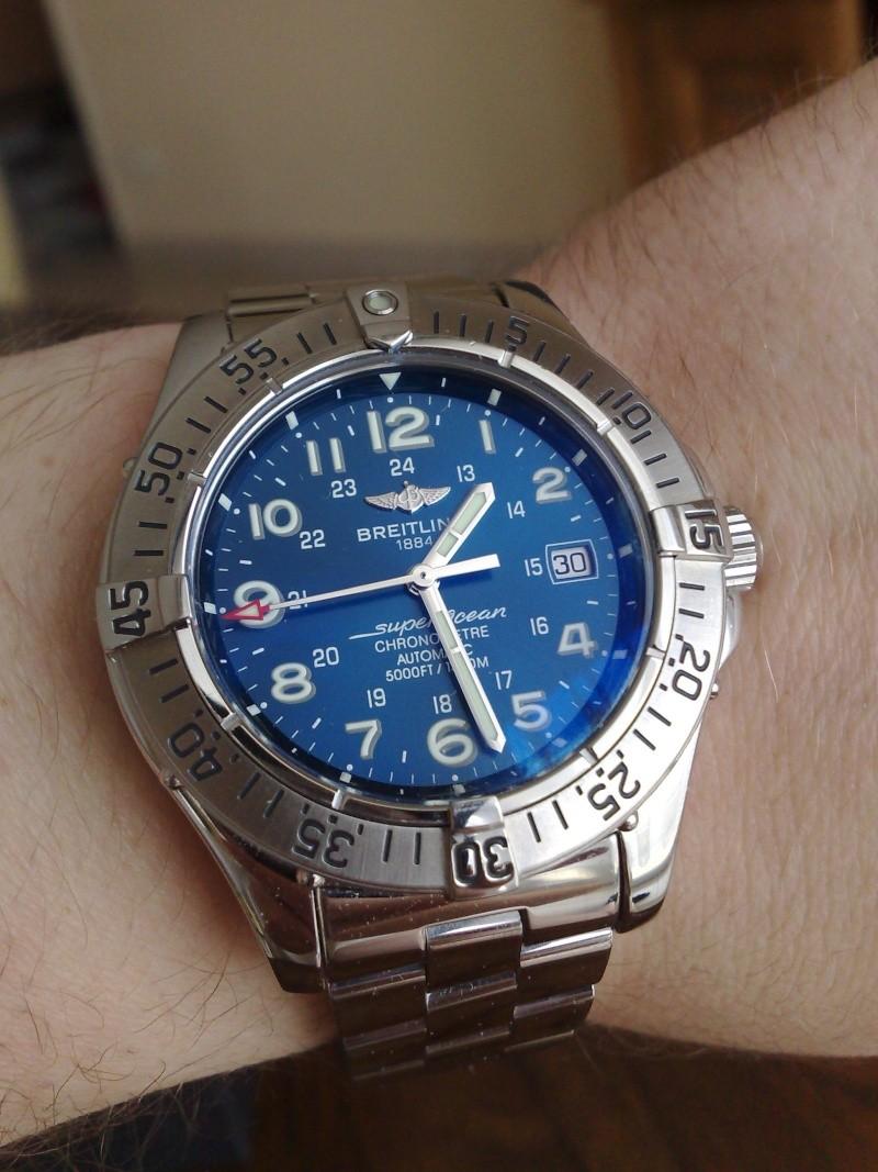 breitling - Breitling Super Ocean ou Rolex submariner Crossw10