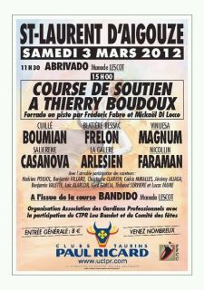 Course de soutient pour Thierry Boudoux, 3 mars à St Laurent 42349312