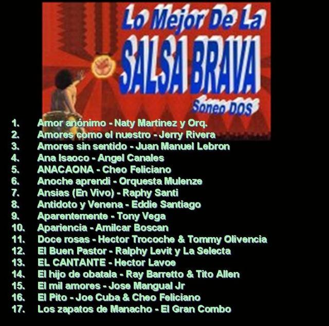 Lo Mejor De La SALSA BRAVA - Soneo Dos Salsa_14