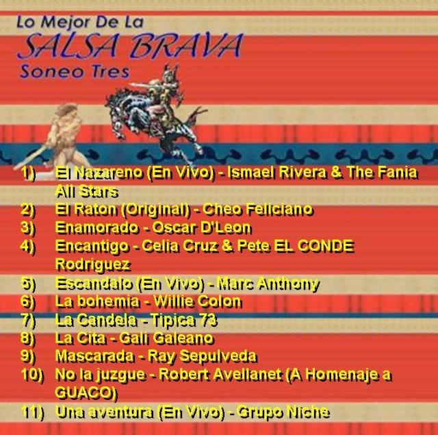 Lo Mejor De La SALSA BRAVA - Soneo Tres Salsa_15