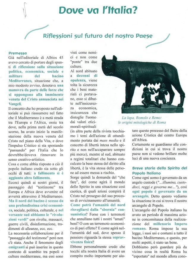 Dove va l'Italia? Riflessioni sul futuro del nostro paese -  Enzo Nastati Kk10