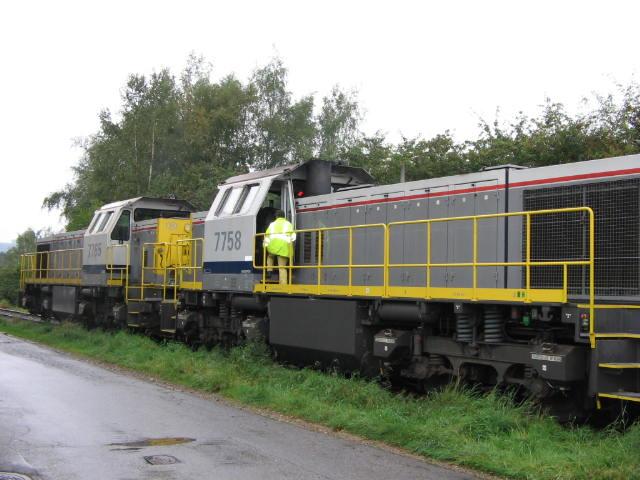 Dernier train en partence de Malmedy 03/10/2006 Img_1814