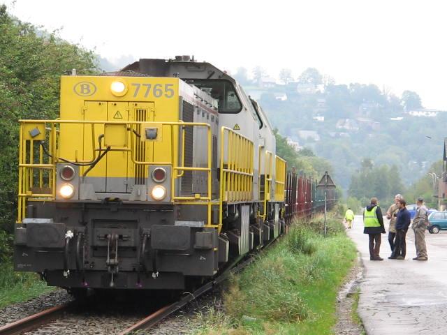 Dernier train en partence de Malmedy 03/10/2006 Img_1816