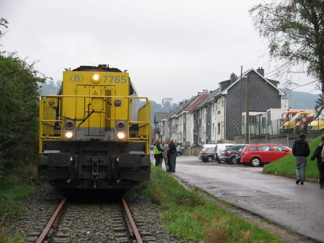 Dernier train en partence de Malmedy 03/10/2006 Img_1910