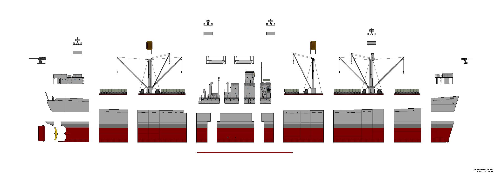 Liberty Ship (les années de guerre) Libert12