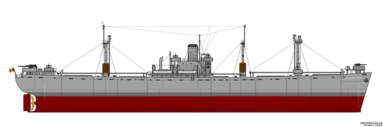 Liberty Ship (les années de guerre) Ls307210