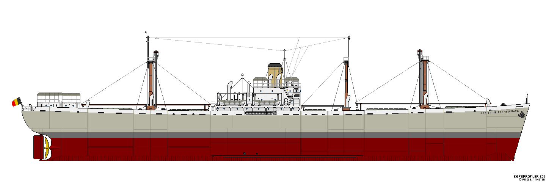 Liberty Ship (les années de guerre) Lscmbf10