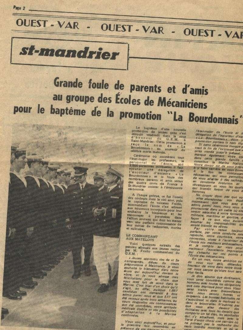 ÉCOLE DES APPRENTIS MÉCANICIENS DE LA FLOTTE - TOME 3 - Page 3 Promot10