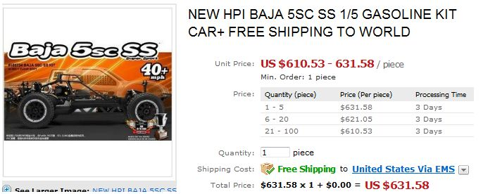 Mon nouveau projet : un Baja 5sc ss ( besoin de conseils ) Hpi10