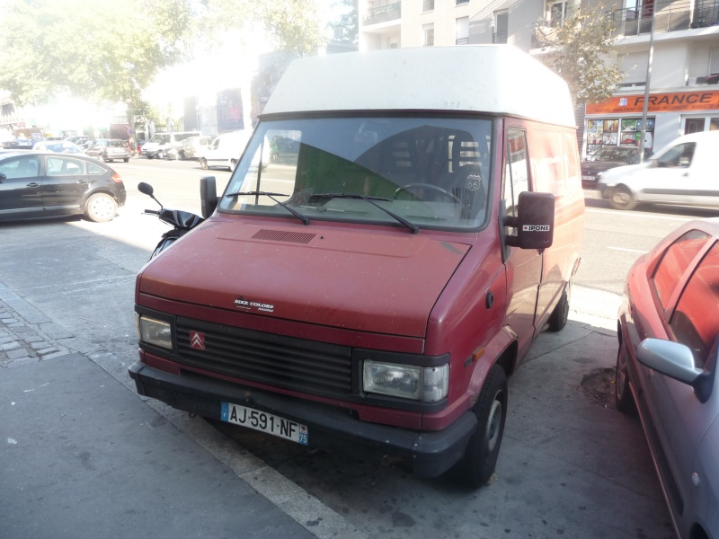 [ Vend ] Camionnette Citroen C25 D ... 2,5 L Diesel  P1010910