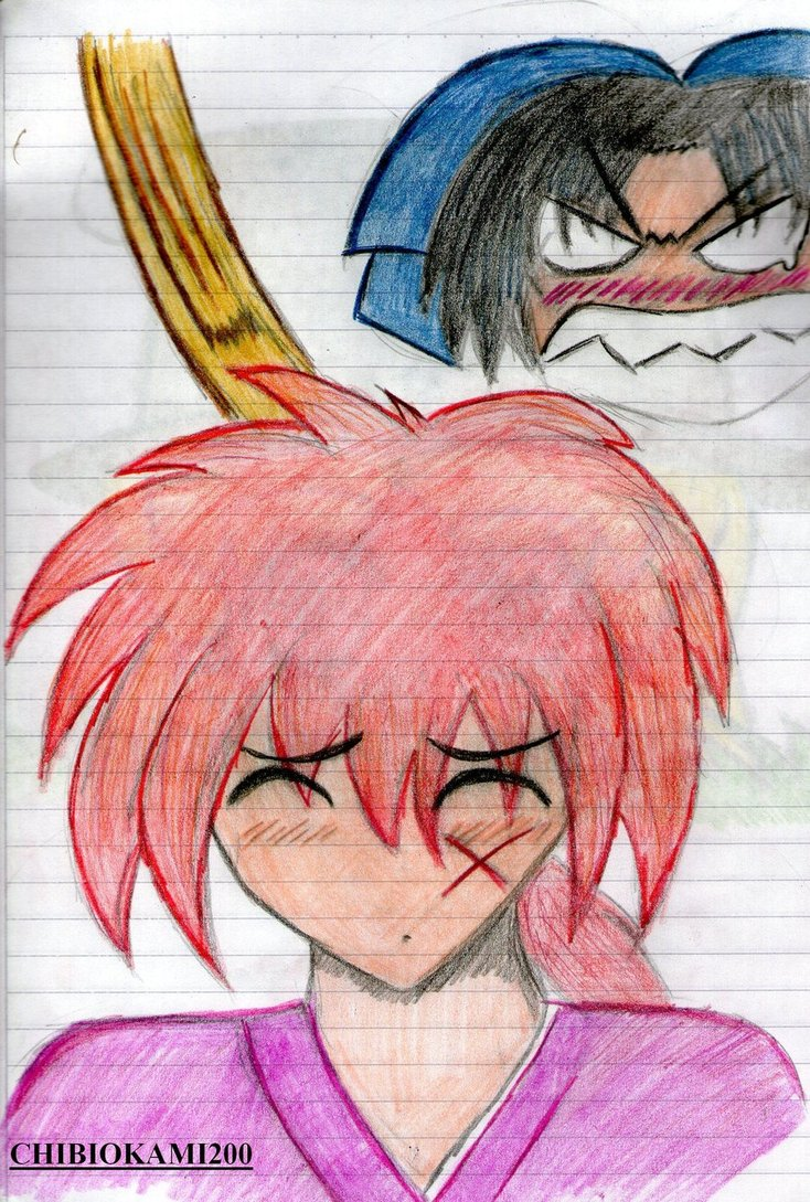 Mis dibujos~~ Kenshi10
