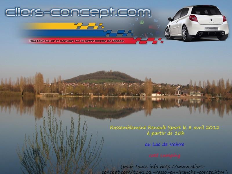[Sortie Clio rs Concept] rassemblement renault sport vesoul Lac-va10