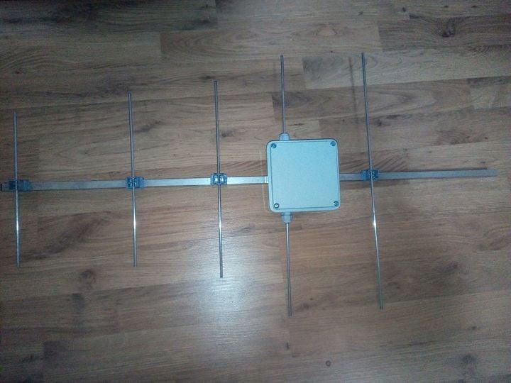 70cms Homebrew 6 Element Yagi-Uda Beam 15344310