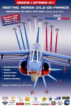 Meeting Aérien International d'Ile de France (Aérodrome de Cergy-Pontoise, dimanche 4 septembre 2011) 556hug10