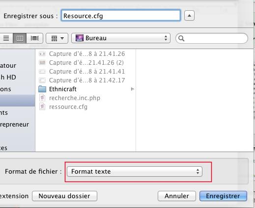 [Fiche] Créer un fichier Resource.cfg 111