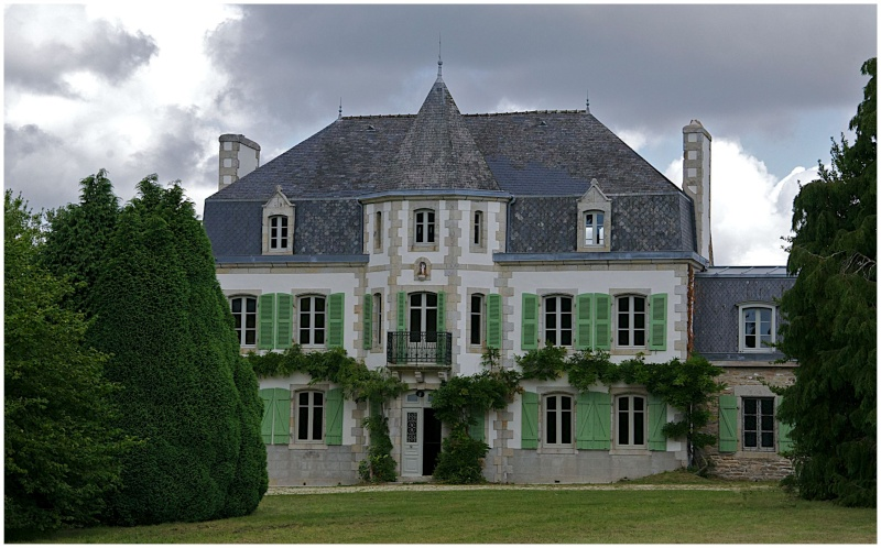Châteaux & Manoirs autour de Quimper (+ 1  le 22/8) - Page 2 Dsc24710