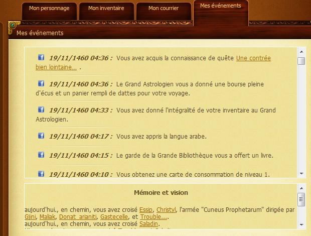 Expédition du Mistral vers Alexandrie - Oct. 1460] Journal de Bord du Cap'taine Oxalys Alxdr613