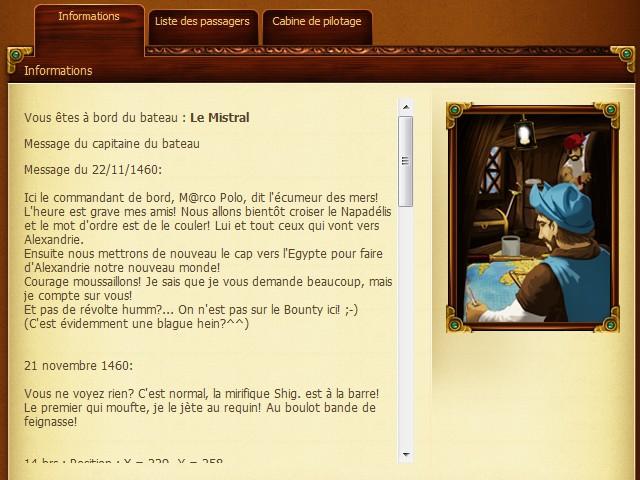 Expédition du Mistral vers Alexandrie - Oct. 1460] Journal de Bord du Cap'taine Oxalys Pannea10