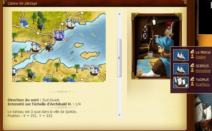 Expédition du Mistral vers Alexandrie - Oct. 1460] Journal de Bord du Cap'taine Oxalys Sarkoy11