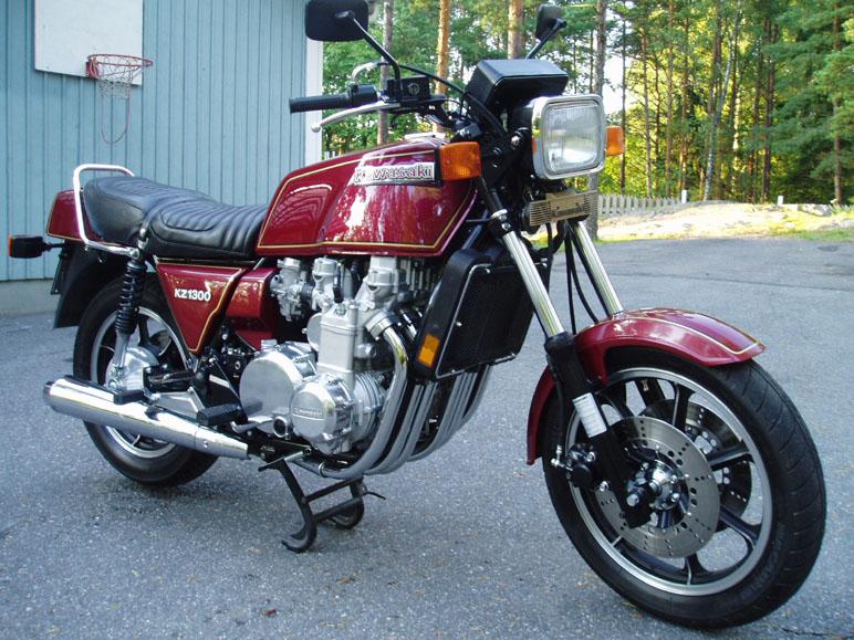 on y va du souvenir : première moto Z130010