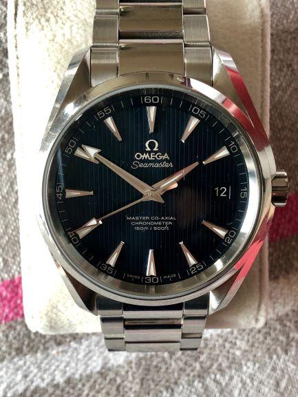 seamaster -  [Vends]  Omega Seamaster aqua Terra master co axial - 2800€ Img_e915