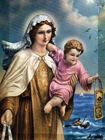 Neuvaine à Notre Dame du Mont Carmel du 08  juillet au 16 juillet 33760210