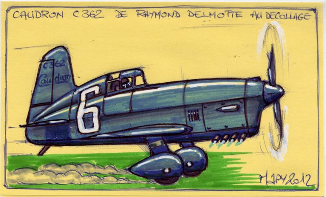 Coupe Deutsch de la Meurthe de 1933 Caudro11