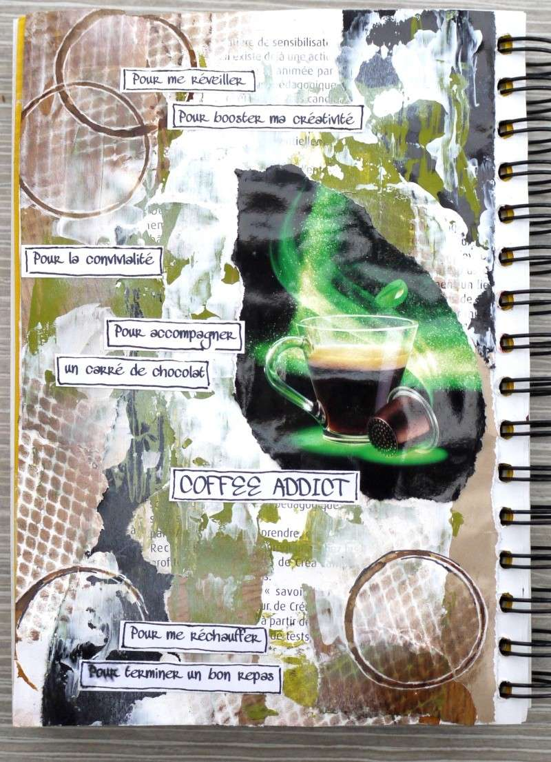 Art Journal : 2 pages, 2 styles P1210113
