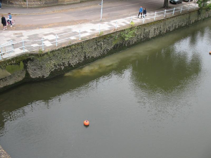 Sewage flowing in to Thames at Twickenham Bridge Img_8612