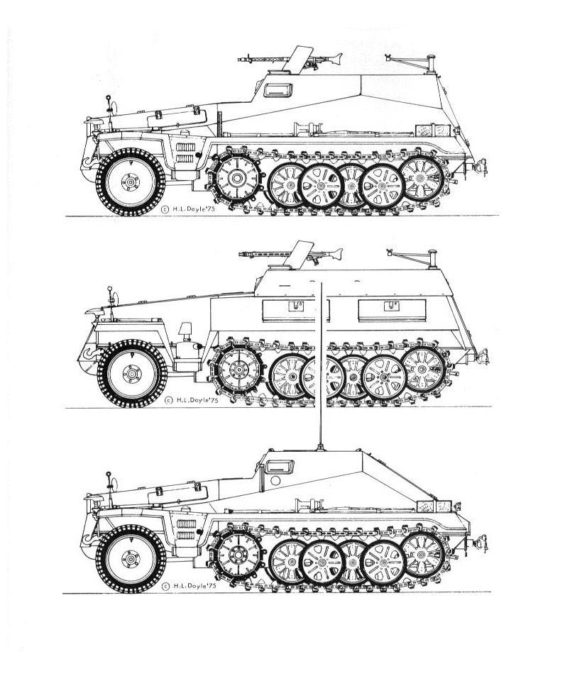 1/35 Leichte Gepanzerte Munitionskraftwagen Sd.Kfz 252 25010