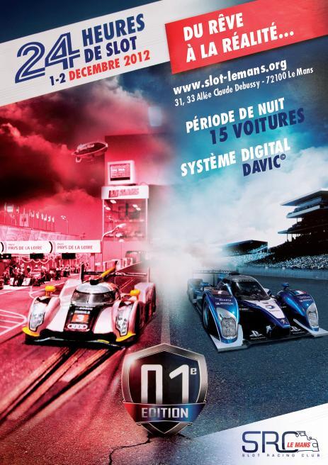 24 H du Mans de Slot Racing !!! Affich10