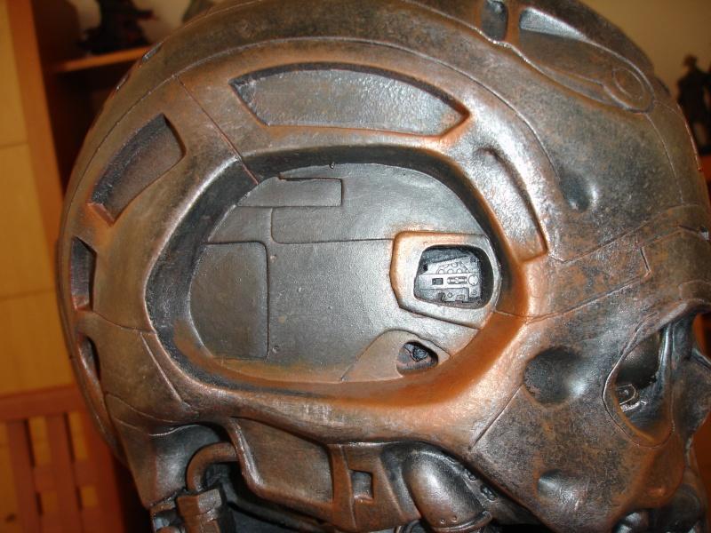 restauration d'un LIFE-SIZE bust T-600 , de chez sideshow . Dsc02023