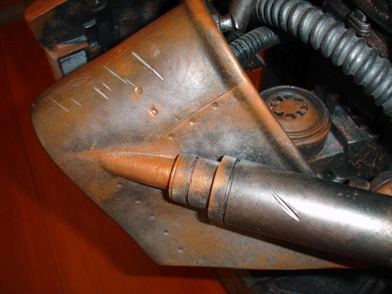 restauration d'un LIFE-SIZE bust T-600 , de chez sideshow . Dsc02025